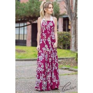 Free People | Boho Maxi Dress.